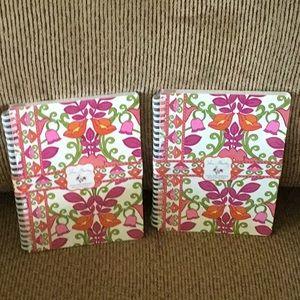 Vera Bradley Mini Notebook with Pocket